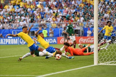 Neymar dem bong can thanh mo ty so cho Brazil