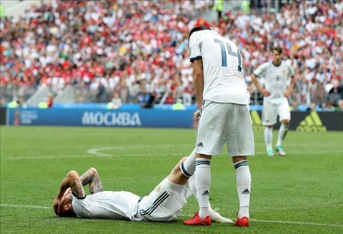 Hình ảnh trận đấu Tây Ban Nha vs Nga vòng 1/8 World Cup ảnh 10