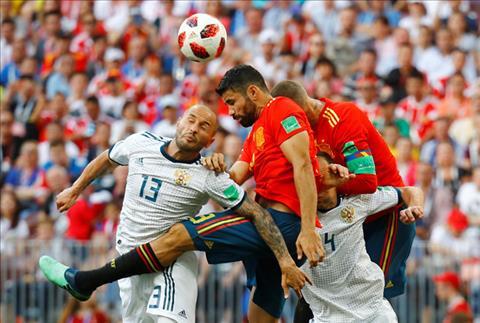 Hình ảnh trận đấu Tây Ban Nha vs Nga vòng 1/8 World Cup ảnh 9