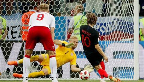 Modric da hong qua phat 11m, khien Croatia khong the giai quyet Dan Mach trong thoi gian da hiep phu.