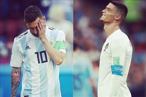 Ronaldo và Messi cùng bị loại Đoạn kết cuộc hành trình hình ảnh 2