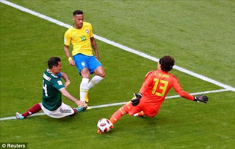 Neymar khong chien thang duoc Ochoa trong tu the doi mat