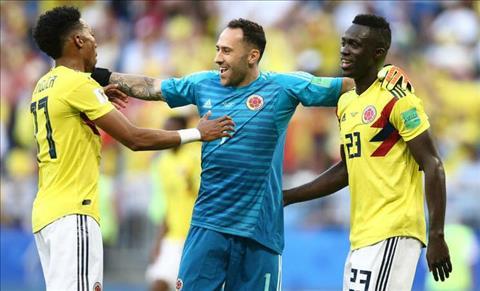 thu mon Ospina va dong doi Colombia