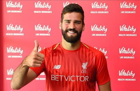 Tân binh 65 triệu bảng Alisson phát biểu về Liverpool hình ảnh