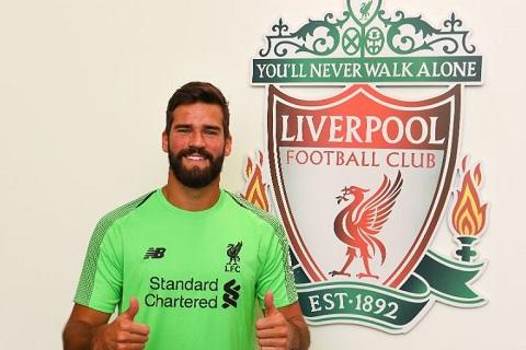 Thủ môn Alisson của Liverpool sẽ là bản hợp đồng của mùa giải nếu hình ảnh