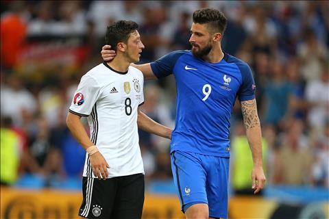 Giroud vô địch World Cup để khỏi bị Ozil lên mặt hình ảnh