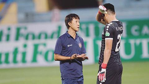 Thắng trận cầu 6 điểm, HLV Sài Gòn FC nói gì sau trận hình ảnh