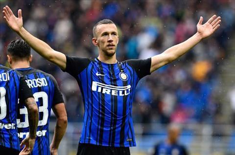 Ivan Perisic la tru cot cua Inter