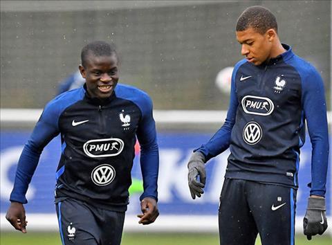 Mbappe xúi giục Kante bỏ Chelsea sang PSG hình ảnh