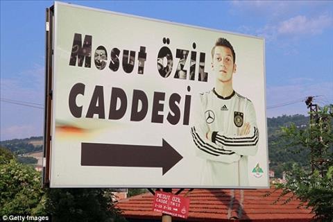 Mesut Ozil được đặt tên phố ở quê gốc Thổ Nhĩ Kỳ hình ảnh 1