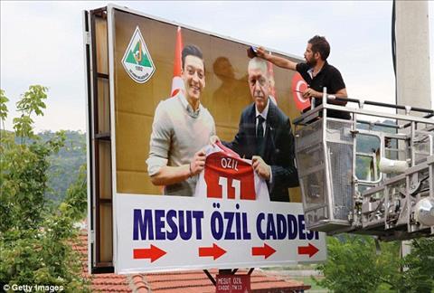 Mesut Ozil được đặt tên phố ở quê gốc Thổ Nhĩ Kỳ hình ảnh 2