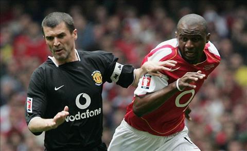 Keane vs Vieira