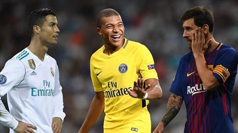 Mbappe sanh vai cung Ronaldo va Messi trong danh sach cau thu hay nhat nam cua FIFA.