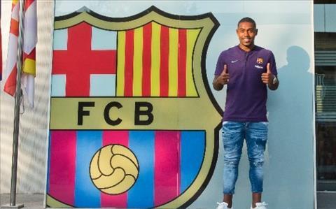 Malcom phát biểu sau khi gia nhập Barca hình ảnh