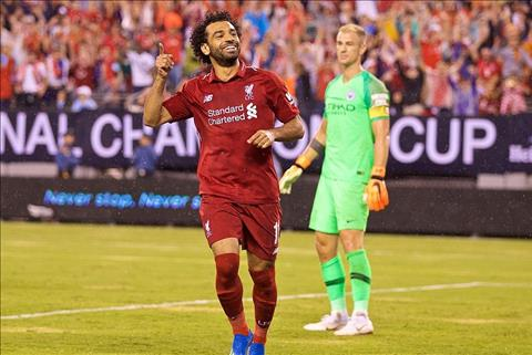 Salah ghi ban cho Liverpool