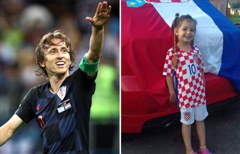 Lá thư cảm động của tiền vệ Modric gửi cô bé 5 tuổi bị ung thư hình ảnh