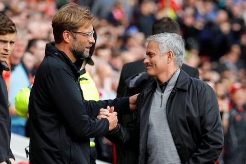 Mourinho cảnh báo Klopp về áp lực vô địch
