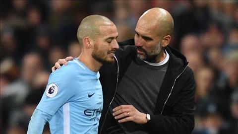 Villa ca ngợi Silva đang làm tốt công việc của mình với Pep