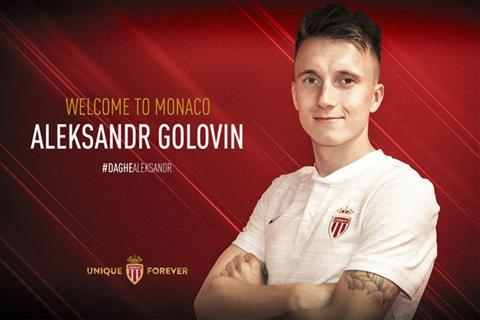 Monaco chiêu mộ Aleksandr Golovin trước mũi Chelsea hình ảnh