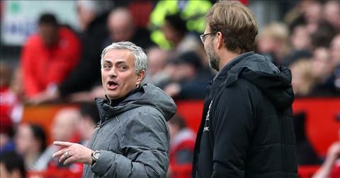 Jurgen Klopp to Jose Mourinho choi tam ly chien voi Liverpool.