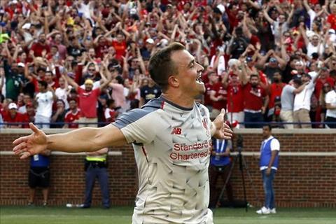 Không được sử dụng, Xherdan Shaqiri phát biểu về Liverpool hình ảnh