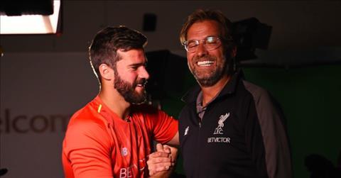 HLV Klopp khen thủ môn Alisson của Liverpool vẫn rẻ dù giá đắt hình ảnh