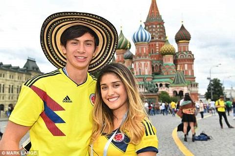 Cổ động viên ĐT Anh kéo đến Moscow trước trận gặp Colombia hình ảnh 9