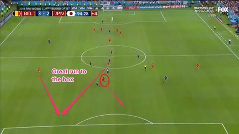Tiền đạo Lukaku góp vào bàn quyết định Bỉ 3-2 Nhật Bản hình ảnh