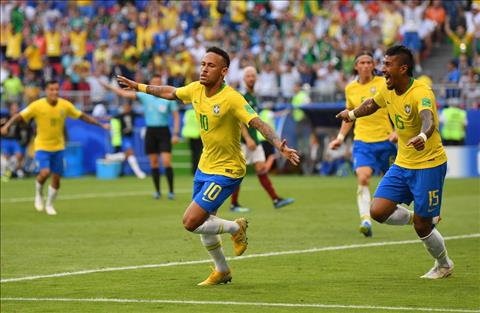 Neymar mo ty so cho Brazil