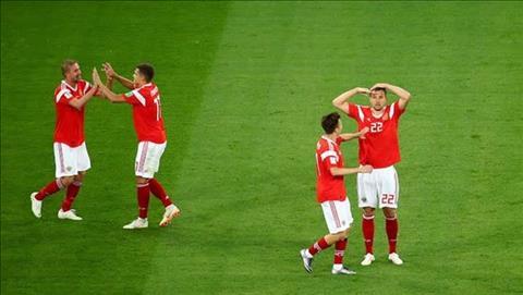 Bài dự thi Ấn tượng World Cup Ấn tượng kiểu chào của chiến binh Dzyuba hình ảnh