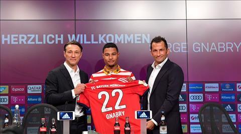 Tan binh Serge Gnabry cua Bayern Munich