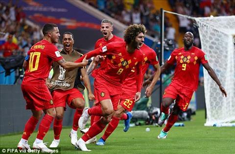 Thống kê Bỉ vs Nhật Bản - Vòng 18 World Cup 2018 hình ảnh