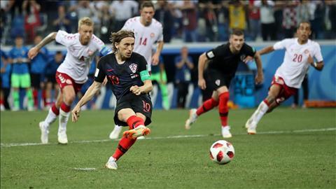 Modric được HLV Dalic tin tưởng dù đá hỏng penalty trước Đan Mạch hình ảnh