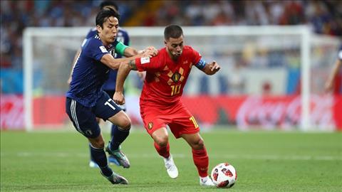 Eden Hazard thua nhan Bi tung run so Nhat Ban khi bi dan truoc hai ban.