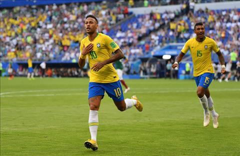 Neymar ghi ban cho Brazil