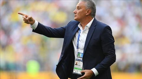 HLV Tite noi ve tran Brazil vs Mexico