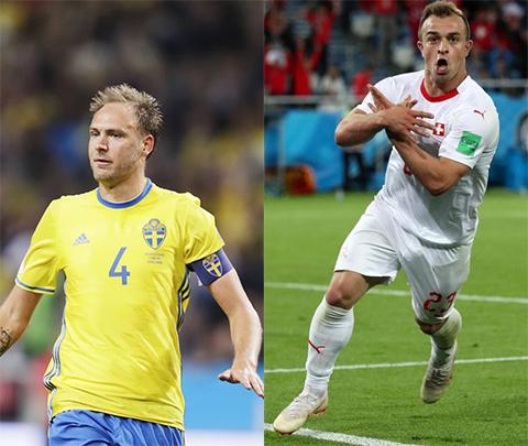 Link xem trực tiếp Thụy Sỹ vs Thụy Điển bóng đá World Cup 2018 hình ảnh