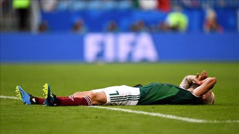 ĐT Mexico bị loại ở vòng 16 đội Nỗi ám ảnh quinto partido  hình ảnh