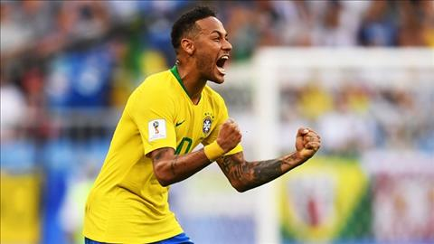 Neymar noi ve tran Brazil vs Mexico