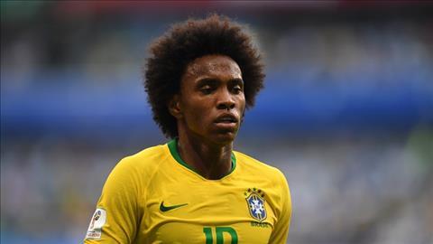 Willian duoc khen ngoi boi tro ly DT Brazil, Sylvinho sau tran thang Mexico.