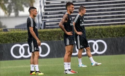 Real Madrid sau do se co hai tran giao huu voi Juventus va AS Roma truoc khi buoc vao mua giai moi.