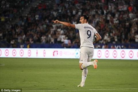 Ibrahimovic lập hattrick giúp LA Galaxy thắng nghẹt thở 4-3
