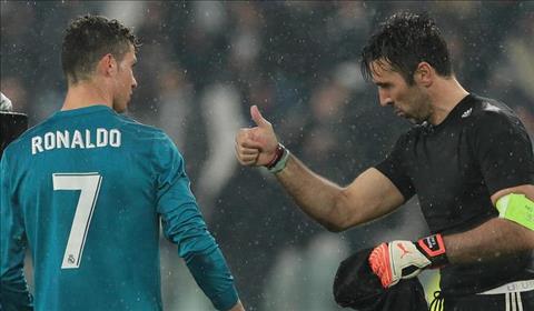 Buffon va Ronaldo