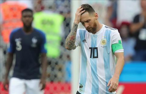 Messi that vong Argentina