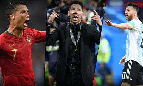 Góc nhìn Simeone phát biểu về Ronaldo và Messi hình ảnh