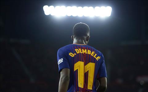 Barca quyết định Tương lai Ousmane Dembele  hình ảnh