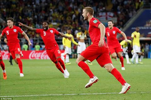 Những thống kê đáng nhớ sau trận đấu Colombia vs Anh hình ảnh