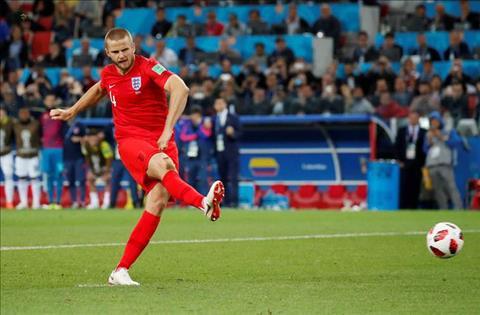 Dier phát biểu sau cú đá penalty quyết định vào lưới Colombia hình ảnh