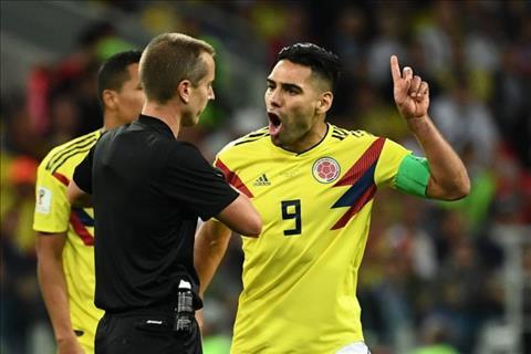 Radamel Falcao phát biểu về trận Anh vs Colombia hình ảnh