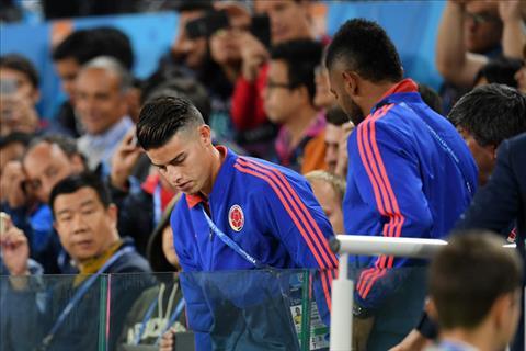 James Rodriguez trong trận thua ĐT Anh hình ảnh 1